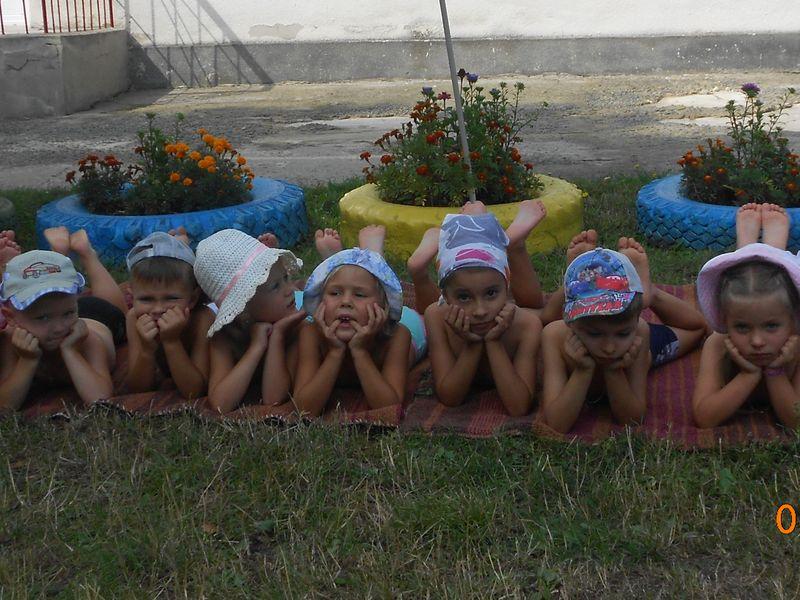Сонячні ванни...